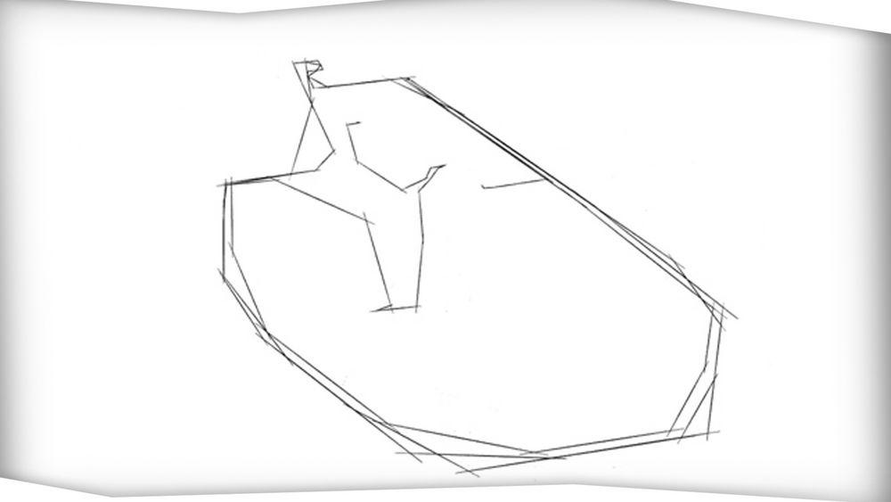 3D Grundriss Animation Aufbau Randering Cafe