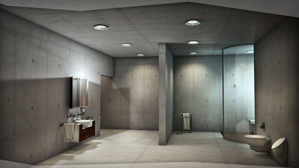 Minimal fairfaced concrete villa anymotion d we love d